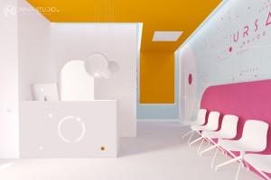 Wnętrza, które uśmierzają ból. Oto niezwykłe projekty gabinetów lekarskich szkicu Maka Studio