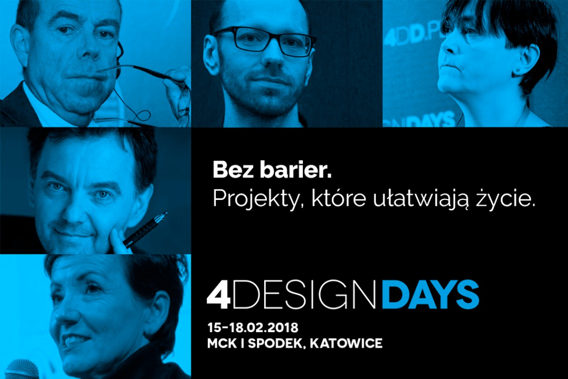 4 Design Days: Projekty, które ułatwiają życie