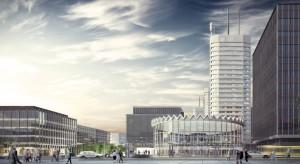 Rewitalizacja Rotundy PKO Banku Polskiego - trwa budowa części naziemnej