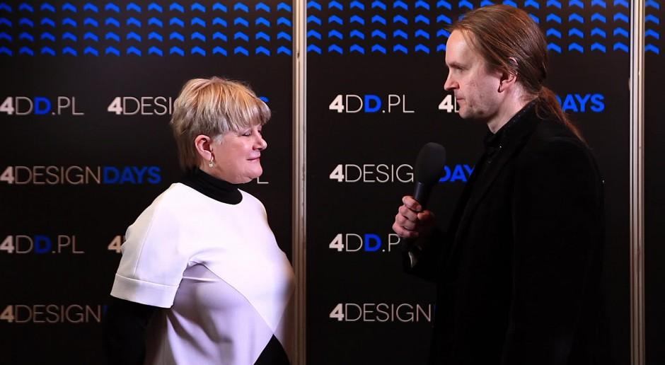 Ewa Kuryłowicz na 4 Design Days: Konkursy dla architektów - o tym trzeba pamiętać