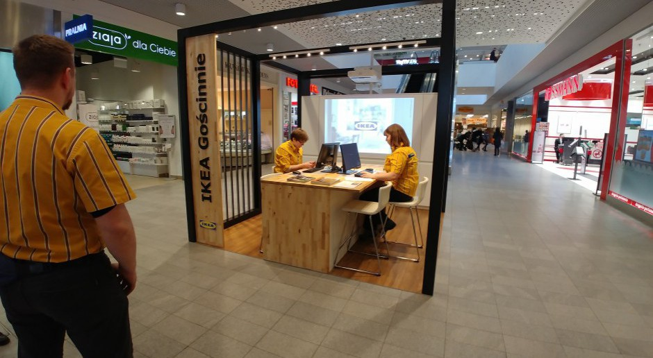 Ikea zawitała do... centrum handlowego