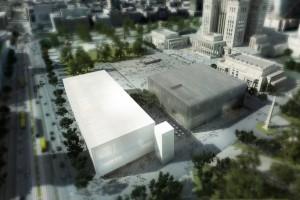 Jest pozwolenie na budowę Muzeum Sztuki Nowoczesnej w Warszawie