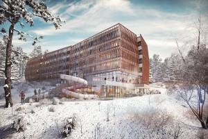 Rusza budowa wielofunkcyjnej perełki szkicu Grupy 5 Architekci