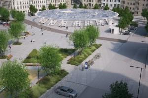 Trzech wykonawców chętnych do przebudowy Rynku Łazarskiego w Poznaniu