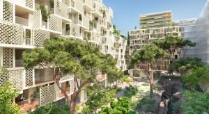 Futurystyczna i ekologiczna. Niezwykła dzielnica powstaje w Nicei