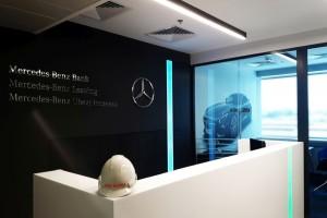 Biura Mercedesa w nowej odsłonie