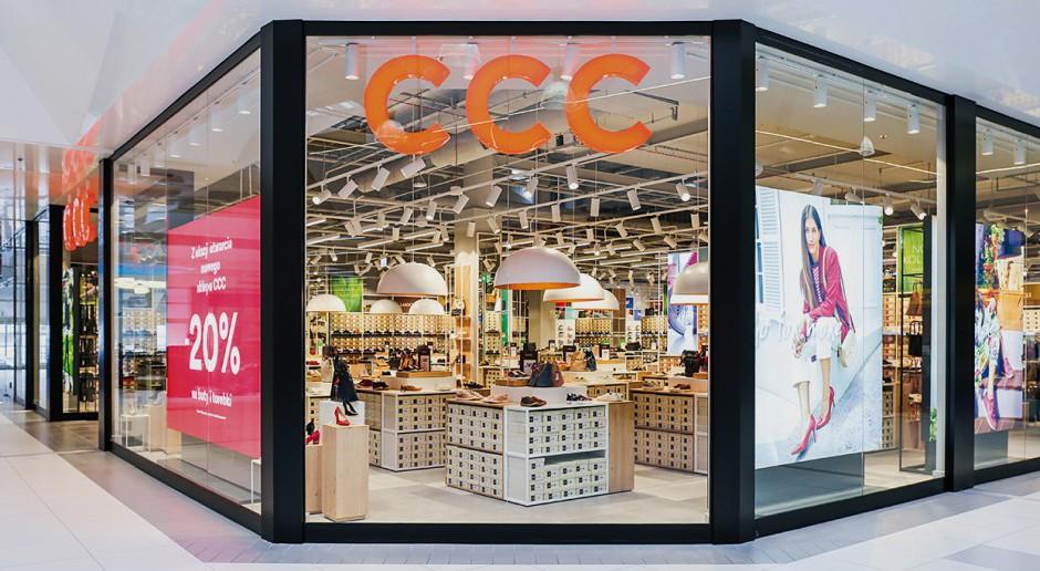 Nowy design salonu CCC w 3 Stawach