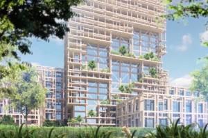 A gdyby tak... wybudować najwyższy na świecie drewniany wieżowiec? Tokio znów zniewala