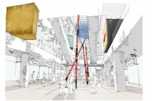 Centrum handlowe w Indiach łączy współczesną architekturę z tradycyjnym stylem
