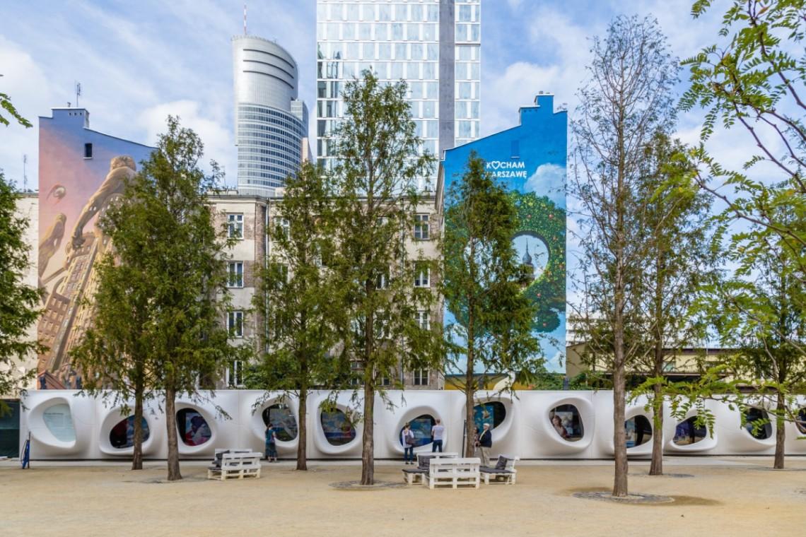 Warszawska architekt z wystawą na Placu Europejskim