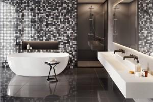 Łazienka w wydaniu black&white. Urokliwy komfort czy chłodna elegancja?
