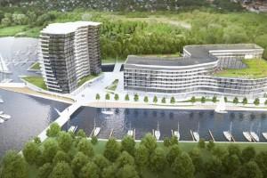 Jezioro Dąbie niczym luksusowy kurort. Oto hotel Maritim i szczeciński... Spinaker