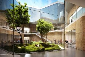 Horizone Studio wpisało Centrum Nauki w zielone wzgórza