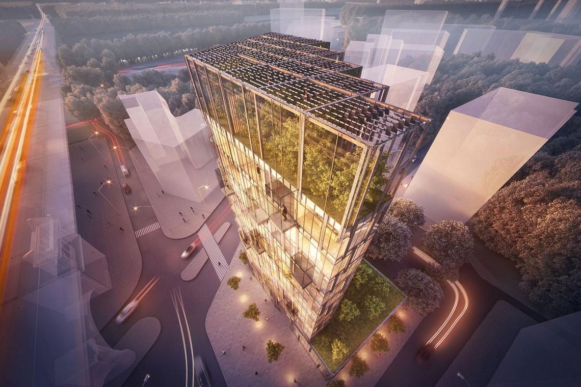 Ekologiczny wieżowiec w centrum Warszawy? To możliwe!