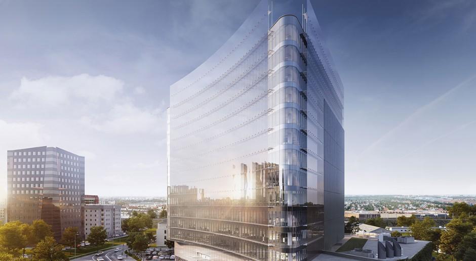 Oto Carbon Tower - wrocławski corner office na przemysłowym gruncie