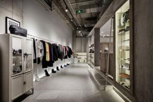 Niezwykły butik w Pekinie. Każda strefa ma swój klimat, a klient sam odkrywa jak rozlokowane są produkty
