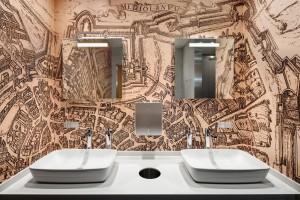 Łazienkowy hub luksusu na lotnisku Mediolan Malpensa