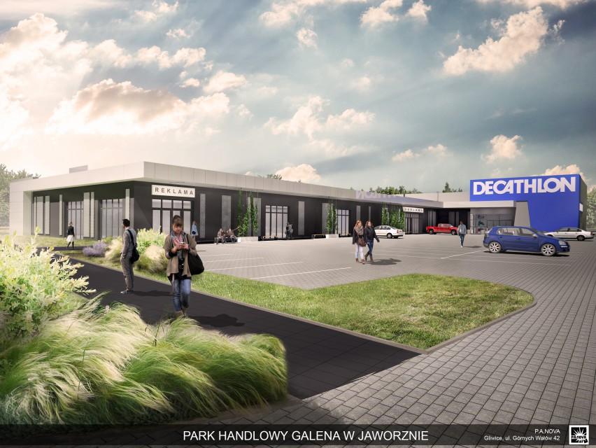 Tak będzie wyglądał nowy park handlowy w Jaworznie