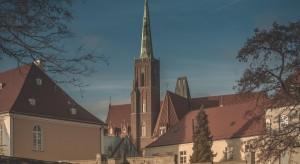 Wrocław z planem zagospodarowania Odry
