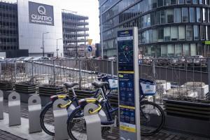 Rowerem do krakowskiego Quattro Business Park – nowa stacja Wavelo gotowa