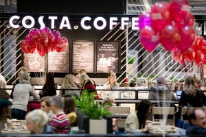 Costa Coffee w Millenium Hall stawia na design