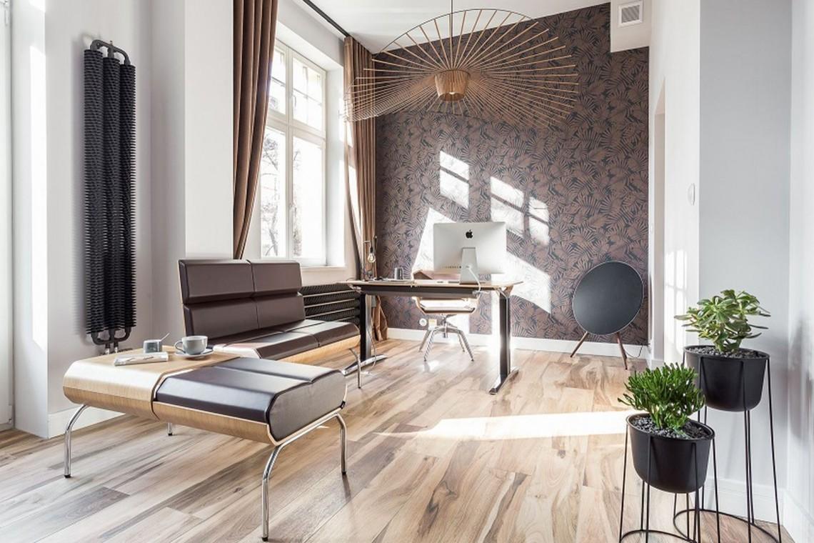 Niezwykły projekt połączył biuro i mieszkanie w jedno