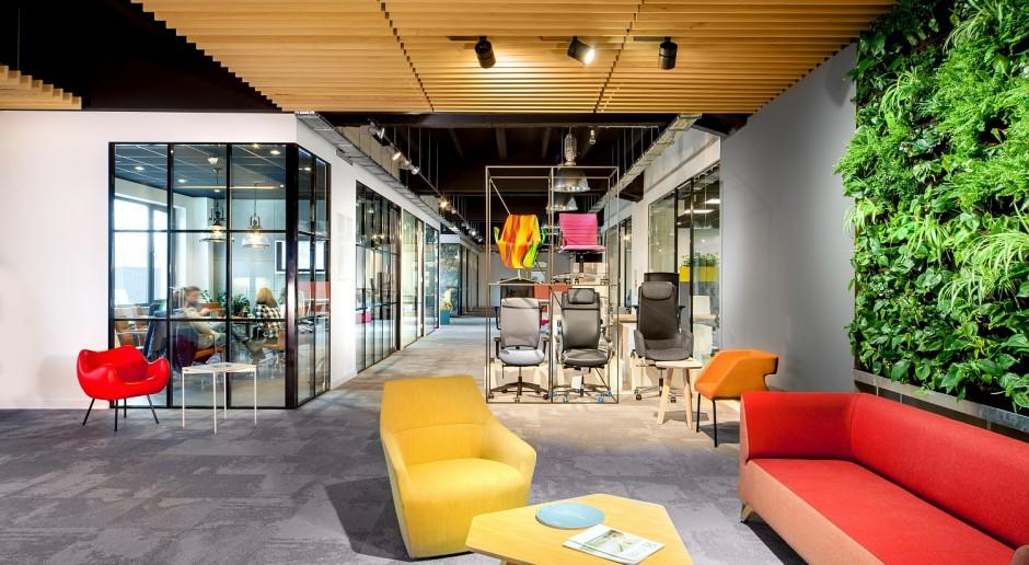 Największy showroom biurowy już otwarty