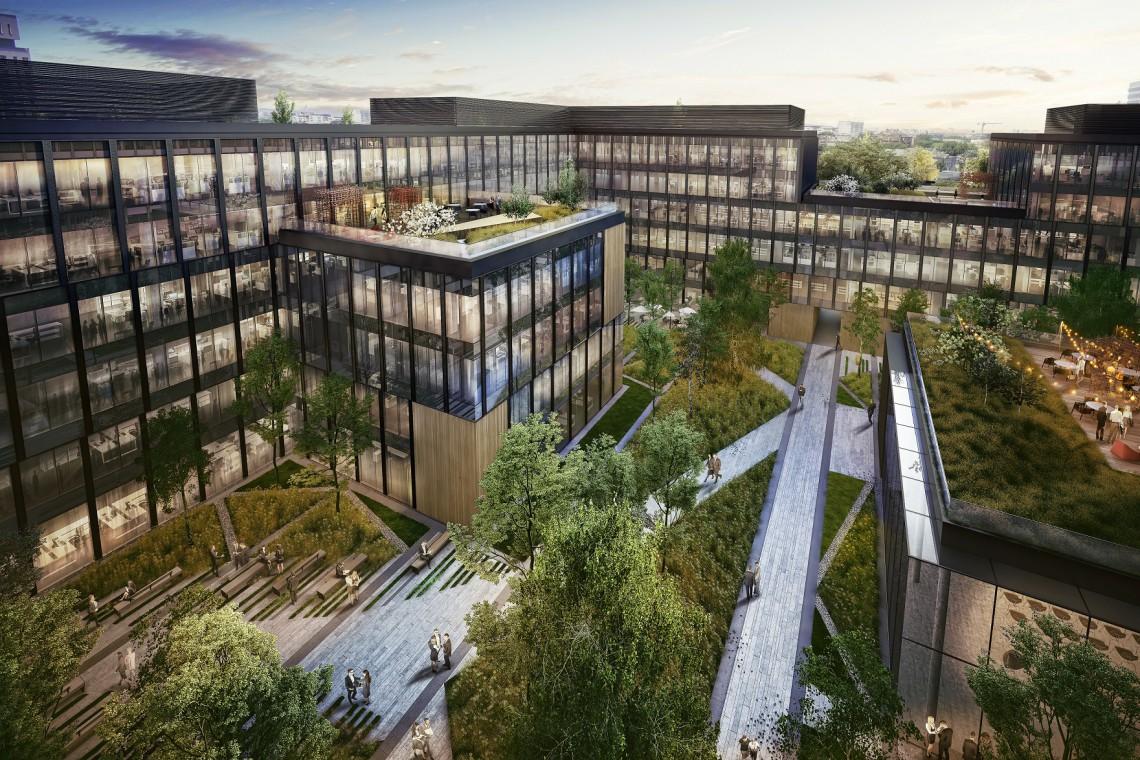 Nowy biurowiec na Woli już z pozwoleniem. To projekt HRA Architekci
