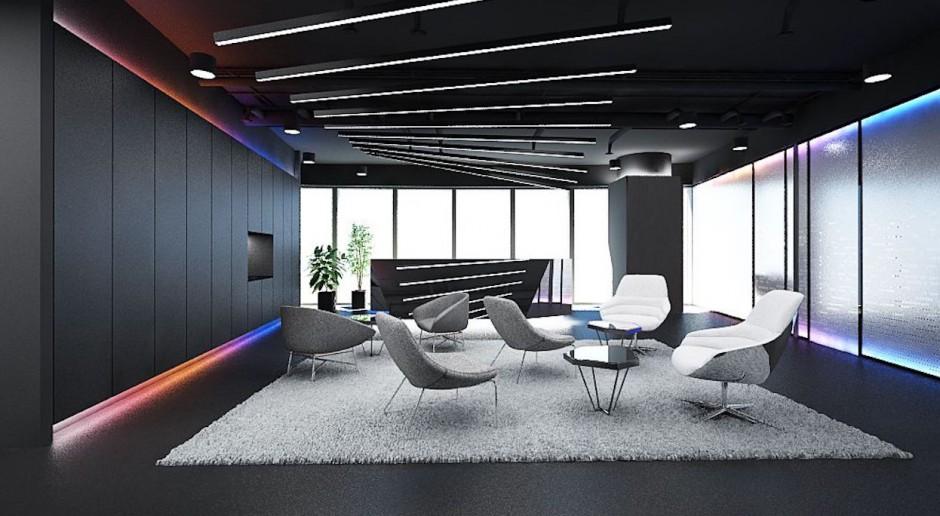 Wnętrze dalekie od klimatu typowego biura - oto nowy projekt The Design Group