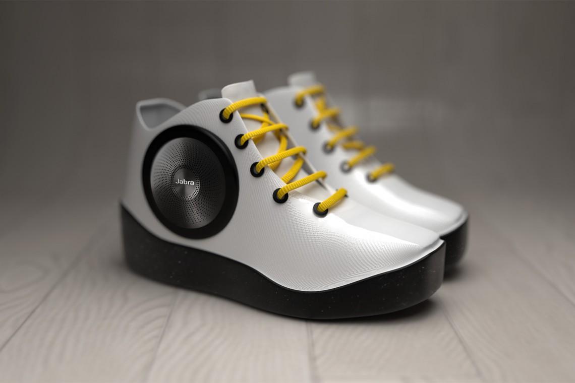Speaker Sneaker? Oto trampki z... głośnikami