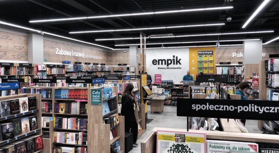 Nowoczesny salon Empik trafił na Bielany