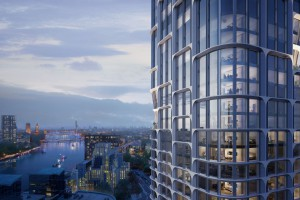 Drapacze chmur w Londynie spod kreski Zaha Hadid Architects