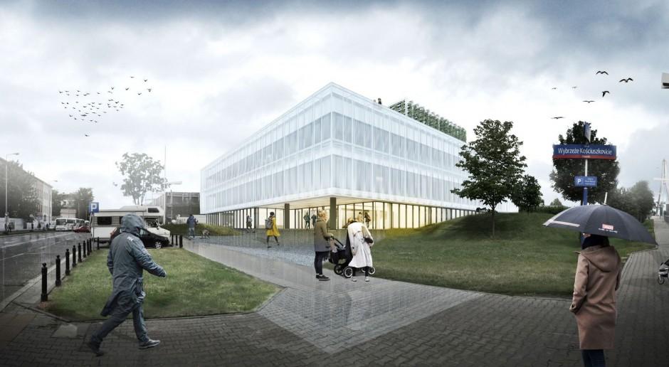 Zielony dach, nadmuchiwana fasada i systemy solarne. Nowy budynek Kopernika tworzony jest w technologii BIM
