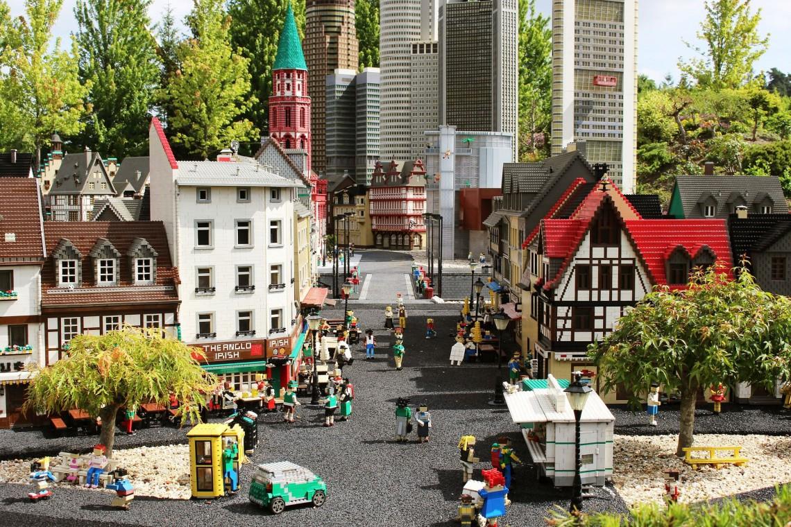 Największa w Polsce wystawa budowli z klocków Lego