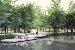 Nowe życie parku w Tychach
