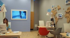 Biuro Podróży TUI w Arkadach Wrocławskich - po modernizacji, nowoczesne i bardziej komfortowe