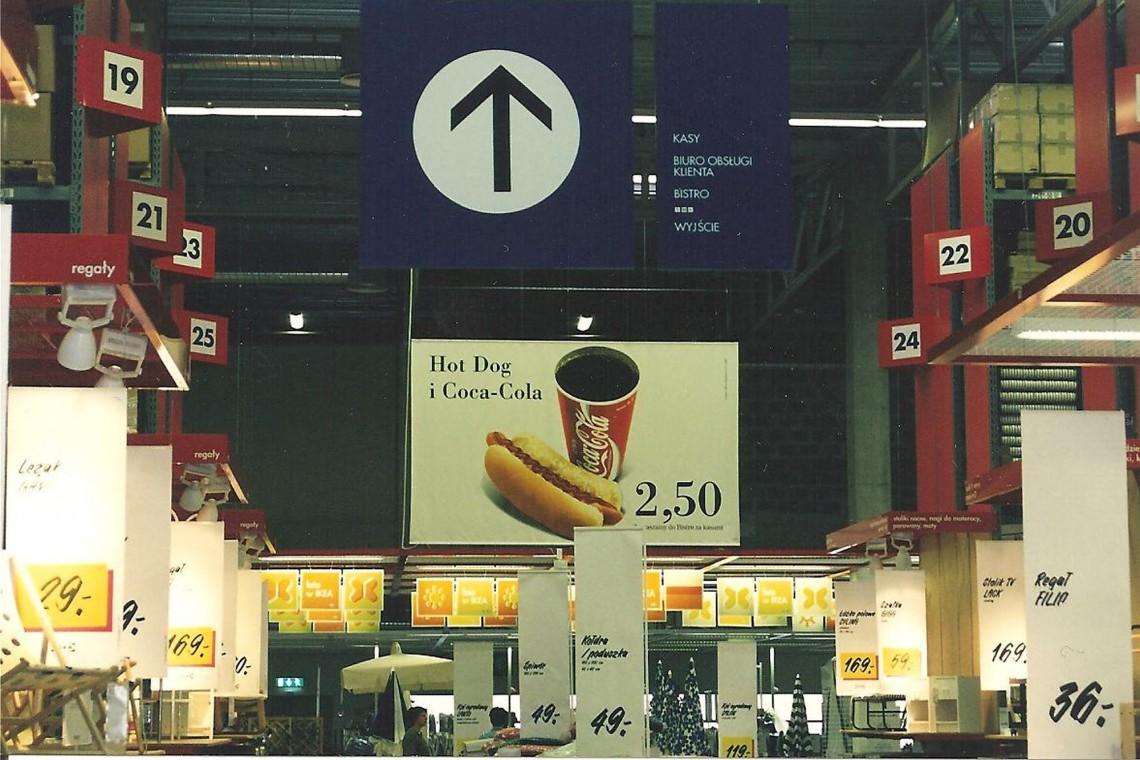 IKEA Kraków ma już 20 lat. Pamiętacie, jak robiło się zakupy pod koniec lat 90.?