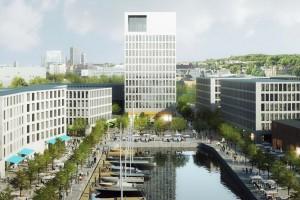 Oto koncepcja JEMS na zabudowę Drewnicy i dawnych terenów stoczniowych w Gdańsku