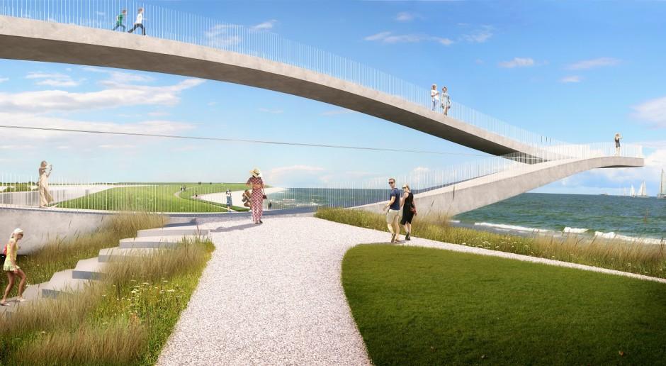 Projekt artystyczny łączący morze z miastem. Oto najnowsze dzieło MVRD