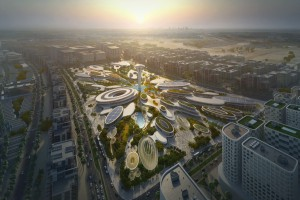 Zaha Hadid Architects zaprojektuje nowe centrum dla ZEA