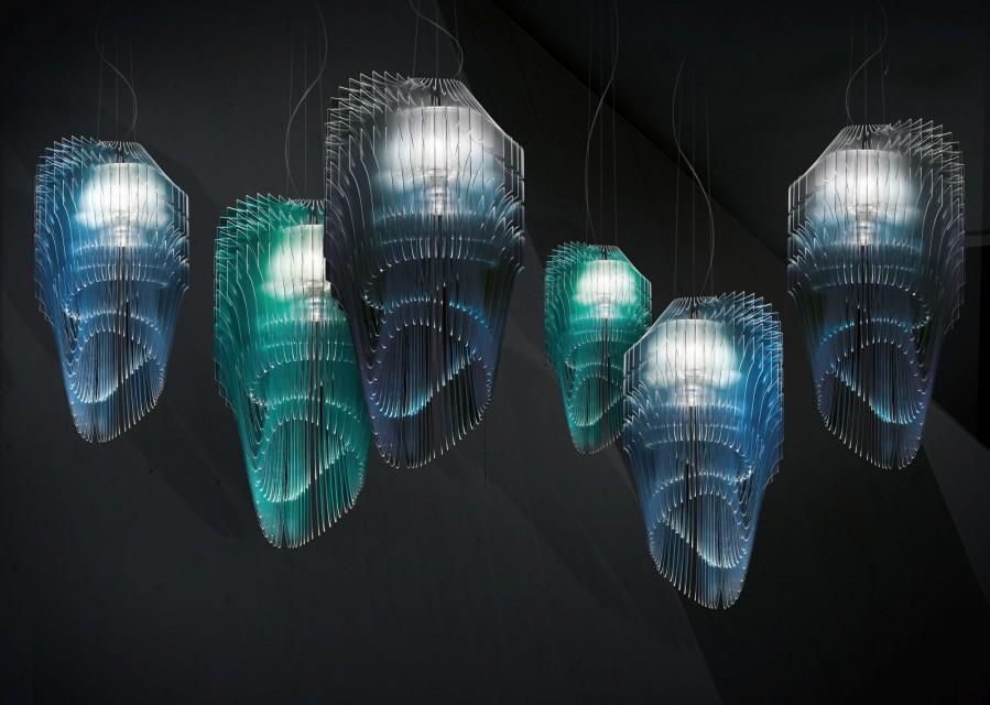 Zjawiskowe lampy - oto efekt współpracy Slamp i Zaha Hadid Design