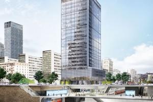 Na starcie Central Point. Właśnie ruszyła budowa nowego wieżowca w centrum Warszawy