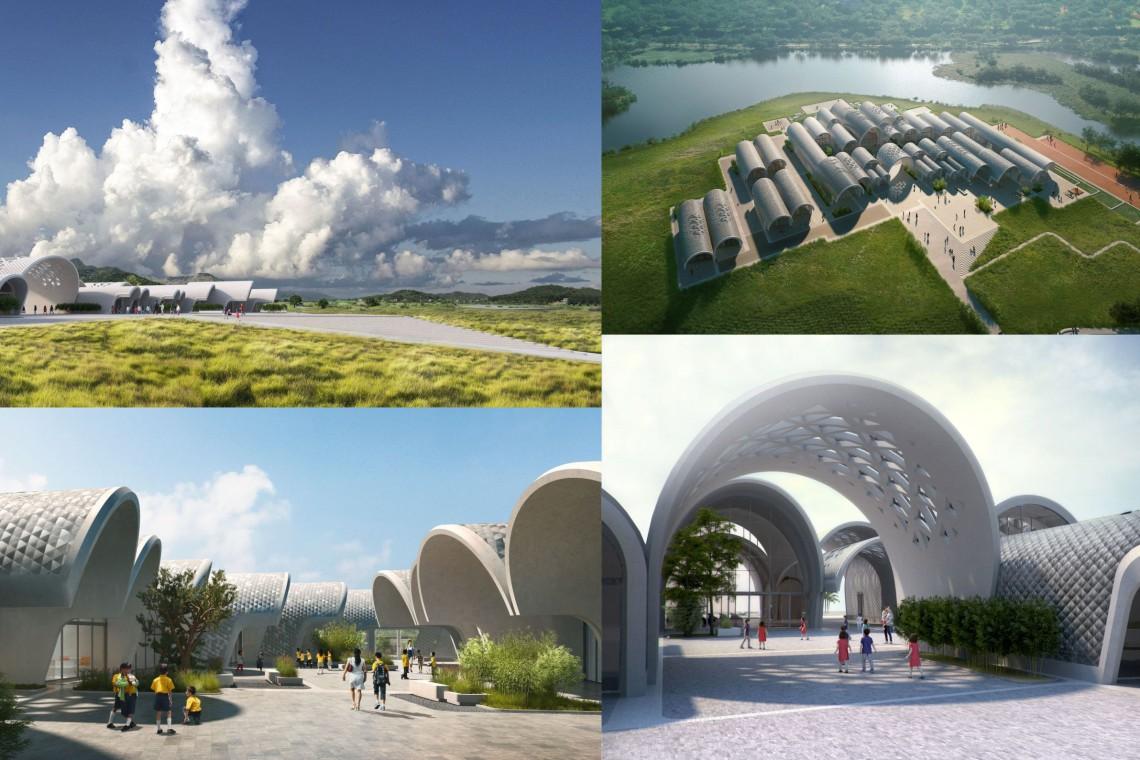 Zaha Hadid Architects projektują niezwykłą szkołę w Chinach