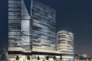 The Warsaw Hub rośnie w oczach. To najbardziej innowacyjny projekt Ghelamco spod kreski Chołdzyńskiego