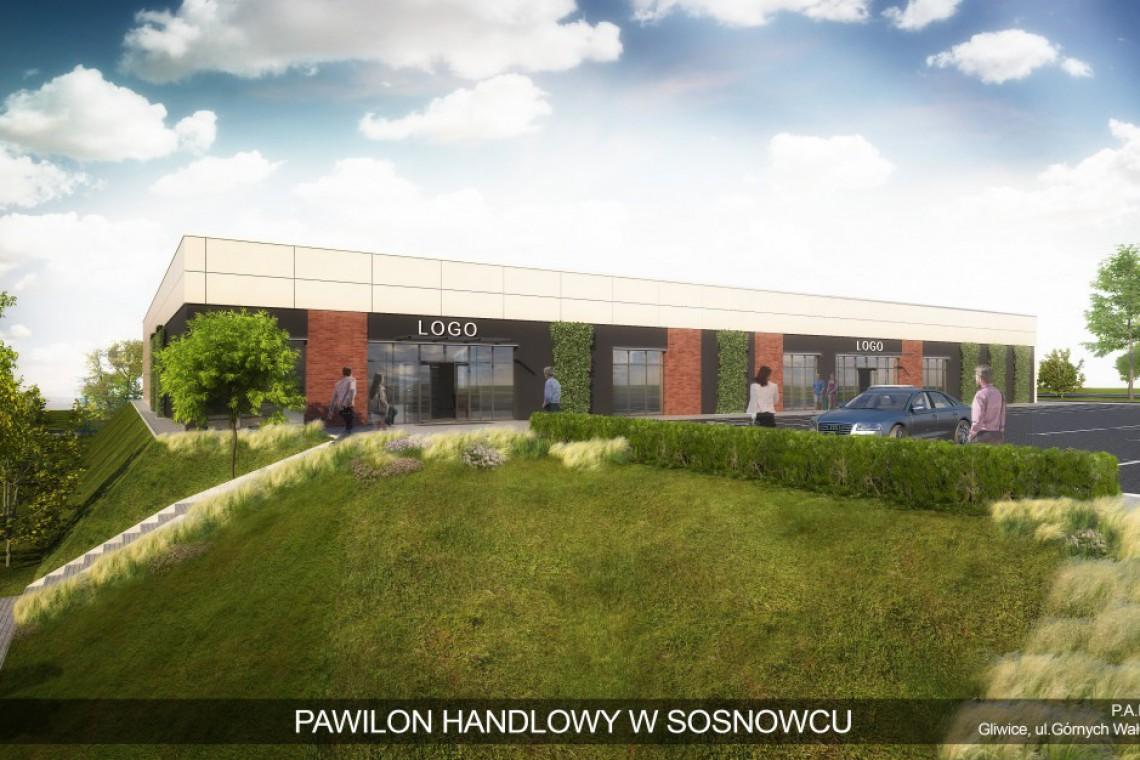 W Sosnowcu powstanie nowa bryła. To pawilon handlowy P.A. Nova