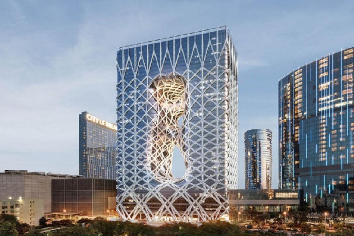 Polski akcent w luksusowym hotelu Morpheus projektu Zaha Hadid Architects