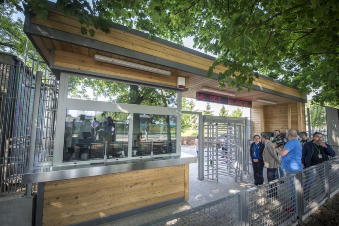 Warszawskie zoo otwiera nową bramę