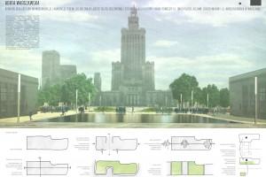 Świat bajkowego ogrodu przy Pałacu Kultury i Nauki