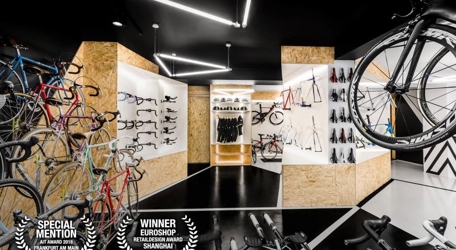 Polska pracownia ponownie nagrodzona w Szanghaju. Projekt sklepu rowerowego zachwycił