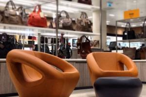 Ten fotel zaskakuje formą i kształtem
